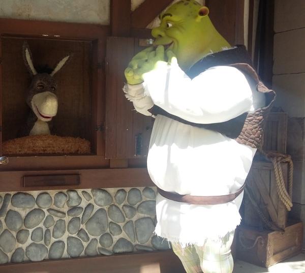 Shrek e Burro